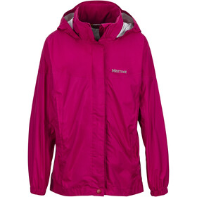Marmot PreCip Jacket Girls sangria